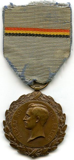 Political Prisoner's Medal 1914–1918 - Image: Médaille du Prisonnier Politique 1914 1918