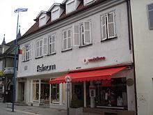 Mörikes Geburtshaus in Ludwigsburg (Quelle: Wikimedia)
