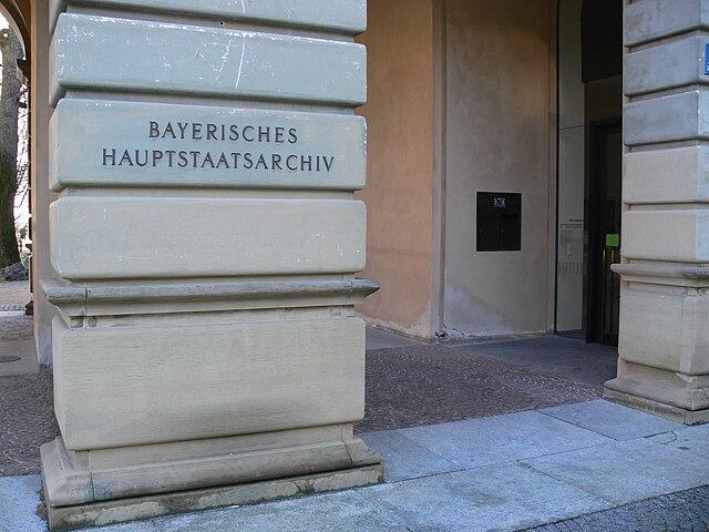 Archivio centrale di Stato della Baviera