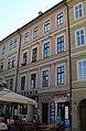 Měšťanský dům U červené růže (Staré Město), Praha 1, Mikulášská 6, Staré Město.JPG