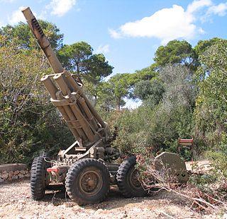 Obusier de 155 mm Modèle 50 Field Howitzer