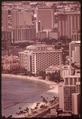 MASSED HIGHRISES OF WAIKIKI DISTRICT, FAVORITE OF TOURISTS SEEN FROM TOP OF DIAMOND HEAD, THE FAMOUS EXTINCT VOLCANO.... - NARA - 553671.tif