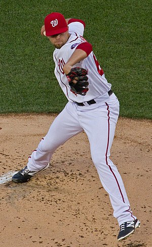 Blake Treinen - Treinen with the Washington Nationals