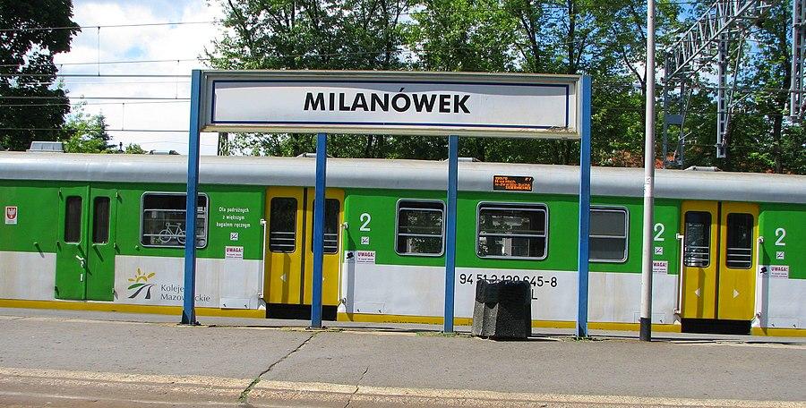Milanówek railway station