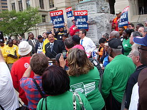 Martin Luther King III - MLK April 4, 2011 rally