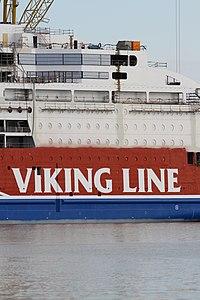 MS Viking Grace, Pernon telakka, Hahdenniemen venesatama, Raisio, 11.8.2012 (3).JPG