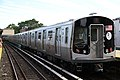 MTA NYC Subway Bombardier R179 train testing at Kings Highway.jpg