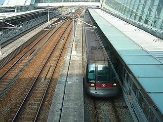 Tung Chung Line - Image: MTR Tung Chung Train