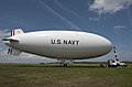 MZ-3A blimp at NAS Patuxent River in May 2014.JPG
