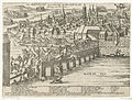 Maastricht ingenomen door Parma, 1579, Frans Hogenberg, 1579 - 1581.JPG