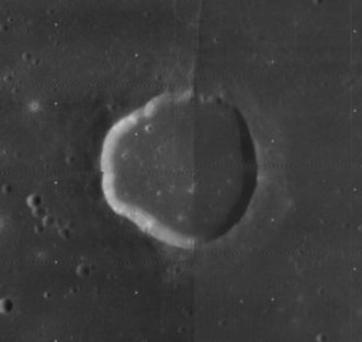 Maclear (crater) - Image: Mac Lear crater 4085 h 2 4090 h 2