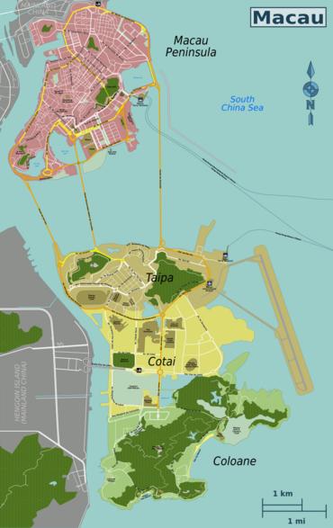 Macau Travel Guide At Wikivoyage