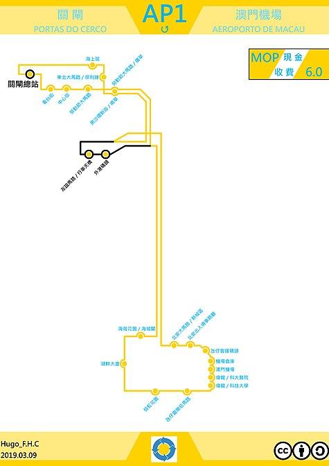 澳門巴士ap1路線 維基百科,自由的百科全書