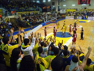 Maccabi Ashdod B.C. - Home Game in the HaKiriya Arena (2010)