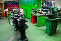 Machine shop, FIXME Hackerspace, Renens, Lausanne (2015-05-22 08.31.47 by Mitch Altman).jpg