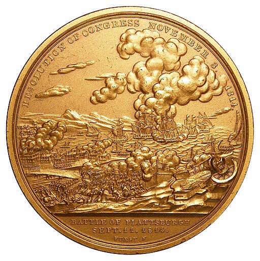 Macomb Congressional Medal Reverse