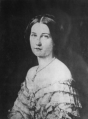 Françoise, duchesse de Praslin - Image: Madrazo Fanny Sébastiani della Porta (1855)