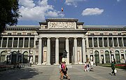 Neoclassical style of the Prado Museum, by Juan de Villanueva