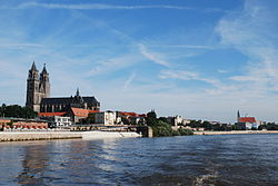 The town's symbol - Cathedral of Magdeburg