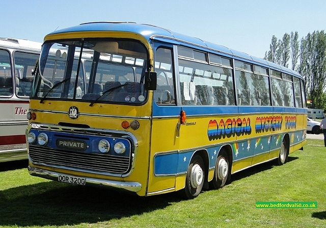 Volvo For Sale >> File:Magical Mystery Tour coach (OOR 320G), Bedford VAL 50 ...