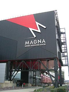 Magna Science Adventure Centre Educational visitor attraction in Rotherham, England