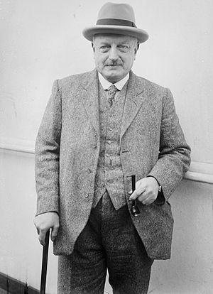 Ernest Belcher - Major Ernest Albert Belcher circa 1920.
