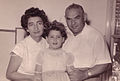 Malka Braverman – with her 1st husband and daughter.jpg