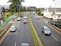 Malpas Road north from Woodlands footbridge - geograph.org.uk - 1626068.jpg