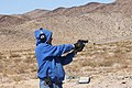 Man aiming SIG Sauer P239.jpg