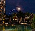 Mandarin Oriental, Dolce Vita, Pool, Singapore Flyer - panoramio.jpg