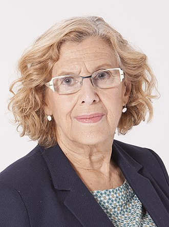 Mayor of Madrid - Image: Manuela Carmena Ahora Madrid 2015 20 (cropped)