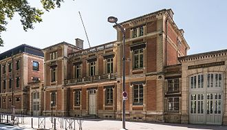 Toulouse 1 University Capitole - Building of ancient tobacco manufacture.