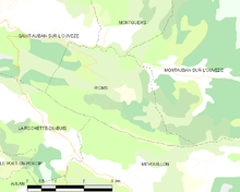 Map commune FR insee code 26267.png