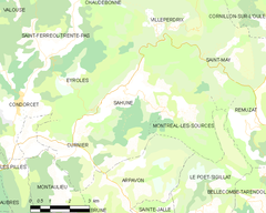 Map commune FR insee code 26288.png
