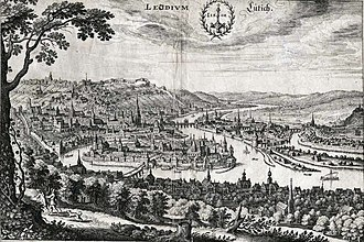 Liège - Liège in 1650