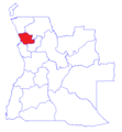 Map of Bengo Province 2014.png