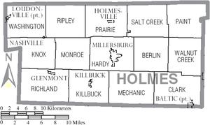 Holmes County Ohio Map Holmes County, Ohio   Wikipedia