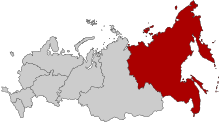 Map of Russia - Far Eastern Federal District.svg