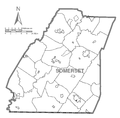 Map of Somerset County, Pennsylvania No Text.png