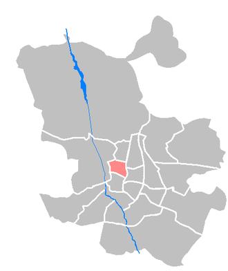 Chamberí - Image: Maps ES Madrid Chamberi