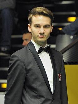 Marcel Eckardt at Snooker German Masters (DerHexer) 2013-01-30 13.jpg