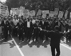 Joseph L. Rauh Jr. - Image: March on washington Aug 28 1963