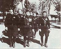 Марш аргентинских фашистов. Ла-Плата. 1930-е