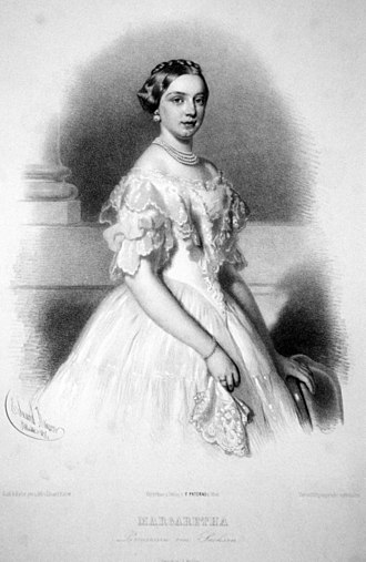 Archduke Karl Ludwig of Austria - Princess Margaretha of Saxony