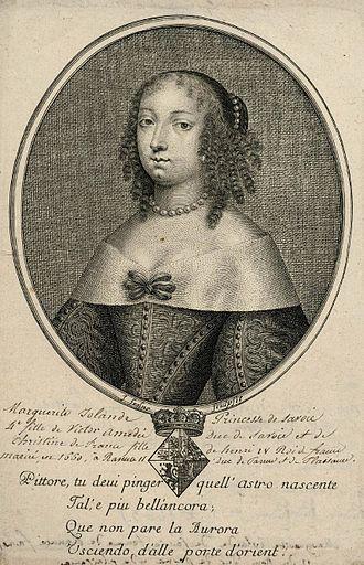 Ranuccio II Farnese, Duke of Parma - Margaret Yolande, Ranuccio's first wife