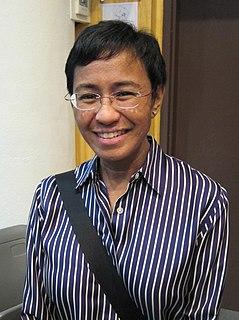 Maria Ressa Filipino-American journalist and CEO of Rappler (born 1963)