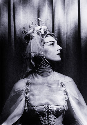 Marian Seldes - Seldes as Bertha in Ondine, 1954