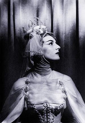 Marian Seldes - Seldes as Bertha in Ondine, 1954
