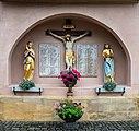 Marienweiher Basilika Kriegerdenkmal 9231818.jpg
