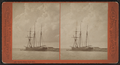 Marine study, Lake Erie. (Boat in dock.), by Pond, C. L. (Charles L.).png